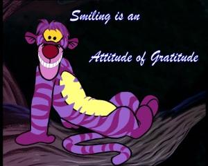 Tigger smiling